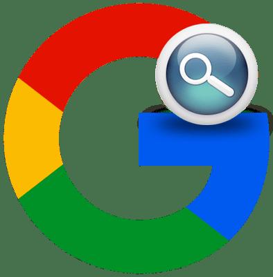 Расширенный поиск в Google лого