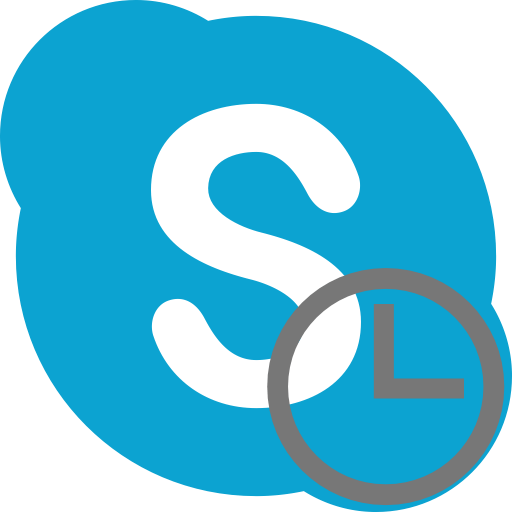 Время в Skype