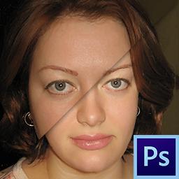 как сделать лицо худее в фотошопе