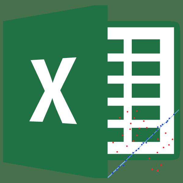 Метод наименьших квадратов в Microsoft Excel
