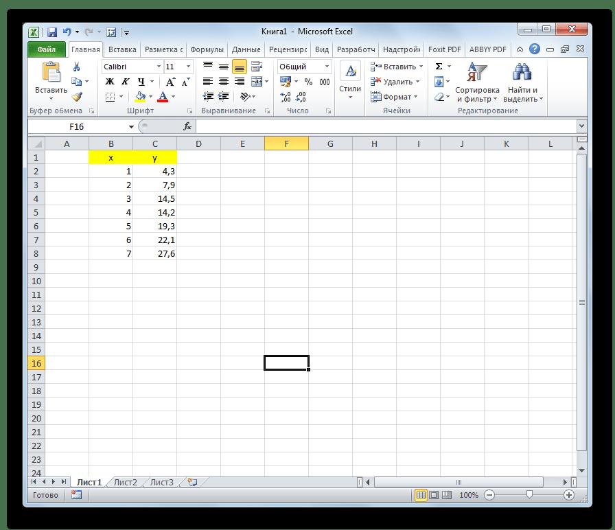 Переменные числа в Microsoft Excel