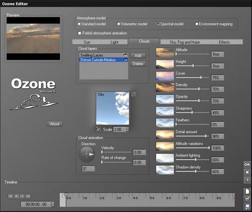 Плагин E-ON Ozone для Cinema 4D