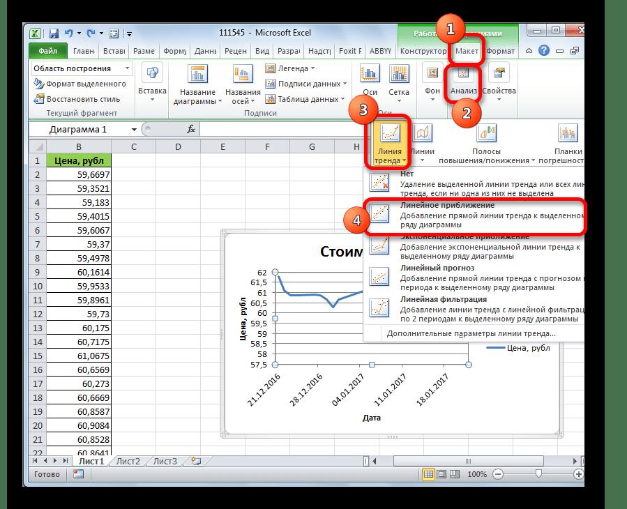 Как в excel сделать график по своим данным
