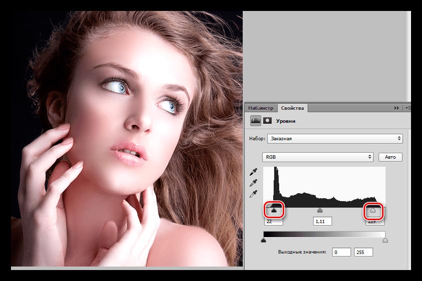 Как сделать в фотошопе глянцевую фото