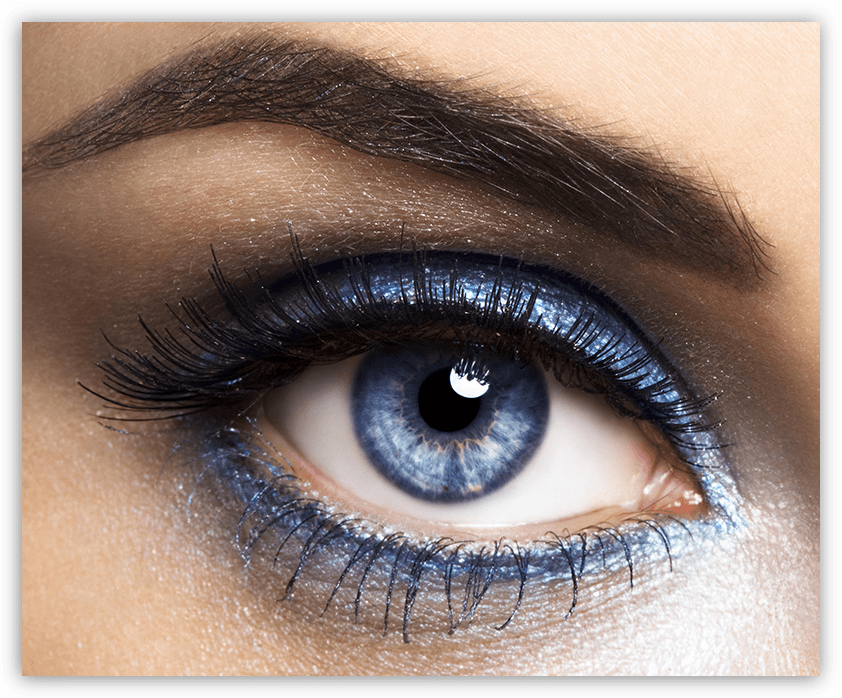 Исходное фото для обработки глаз в Фотошопе