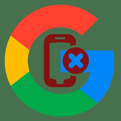 Как удалить устройство из аккаунта Google