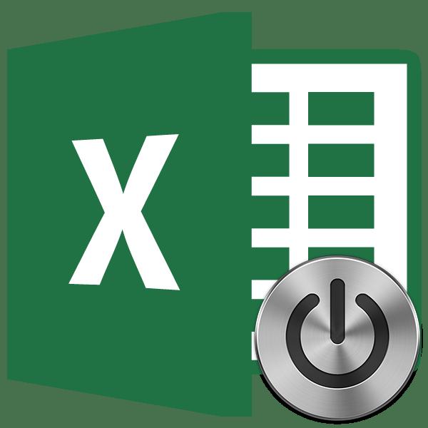 Кнопка в Microsoft Excel