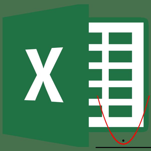 Парабола в Microsoft Excel