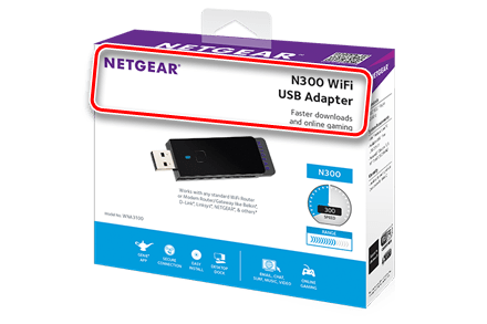 Пример коробки Wi-Fi адаптера