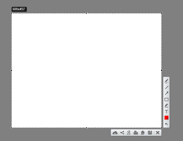 Скриншот в Lightshot
