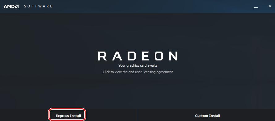 Способ установки ПО Radeon