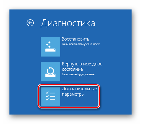 Windows 8 Диагностика