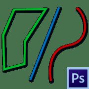 Как рисовать линии в фотошопе