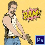 Как сделать комикс в фотошопе