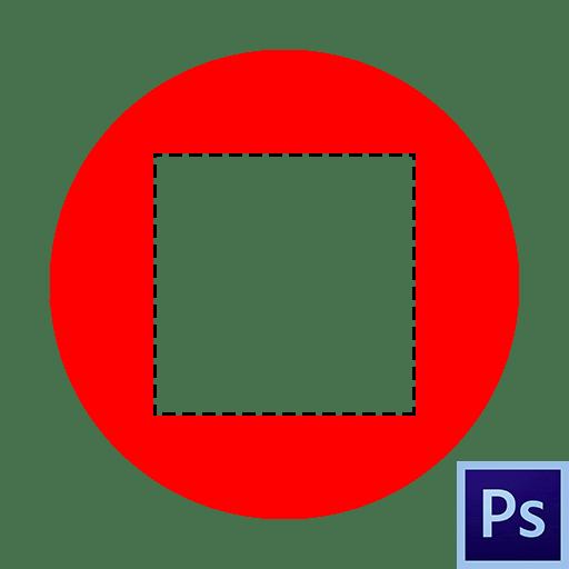 Как удалить выделенную область в Фотошопе