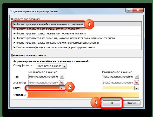 Форматирование ячеек на основании их значений в Microsoft Excel