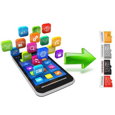Как перенести Андроид приложение на карту памяти