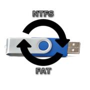 Как поменять файловую систему на флешке