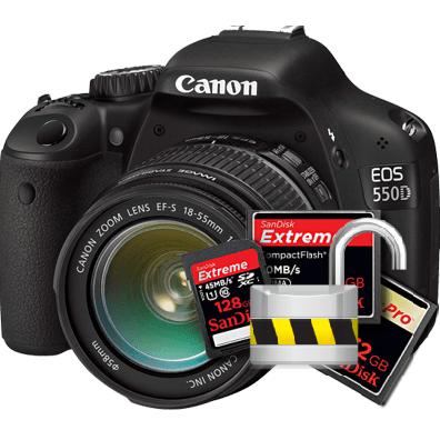 Как разблокировать карту памяти на фотоаппарате