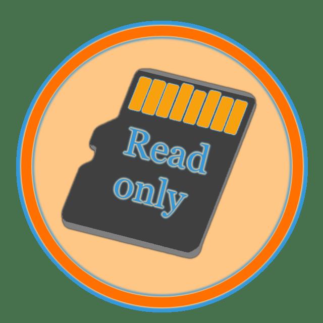 Как снять защиту с карты памяти
