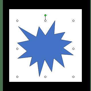 Отображение фигур в Word 2003