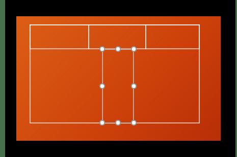 Пример нарисованной вручную таблицы в PowerPoint