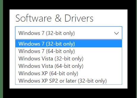 Выбор ОС перед загрузкой ПО Xbox 360