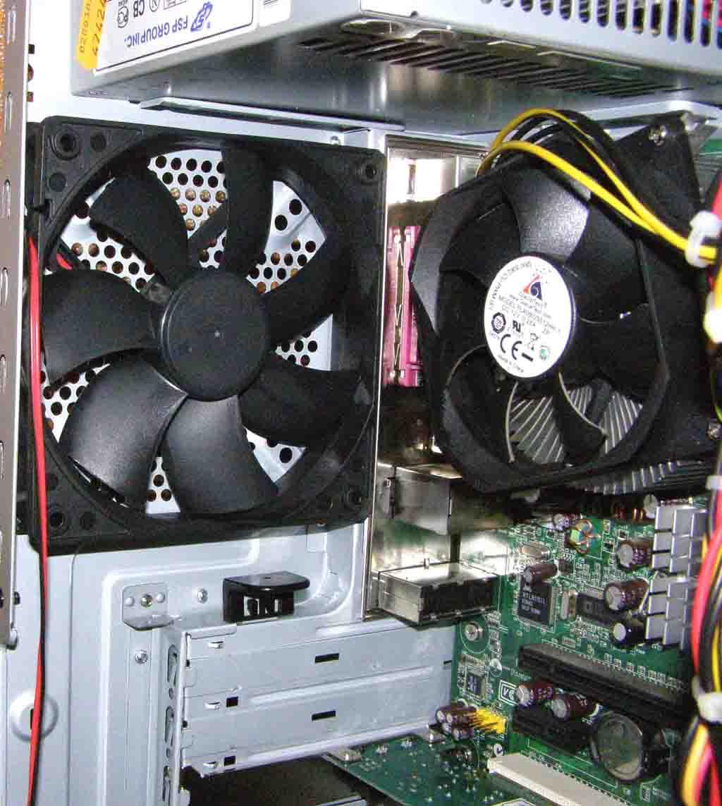 Дополнительный вентилятор
