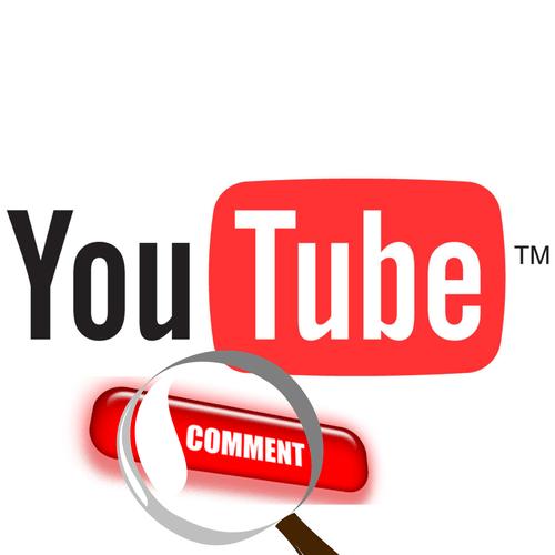 как найти свой комментарий на youtube