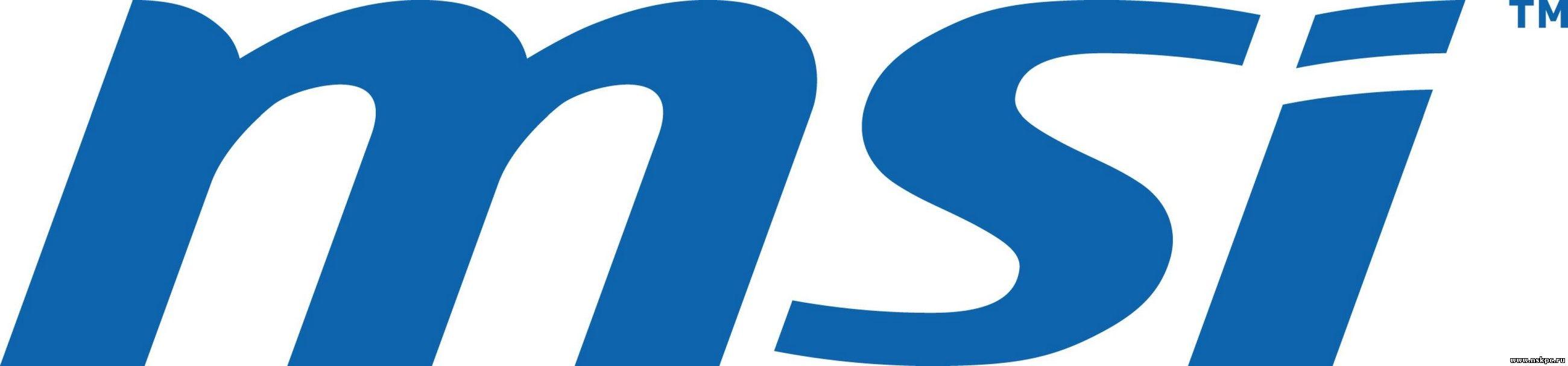 MSI лого