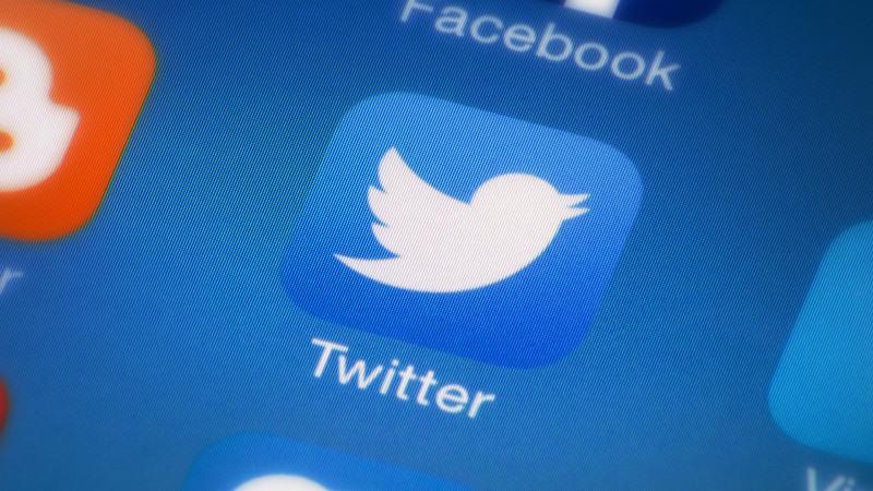 Иконка мобильного приложения Twitter для iOS