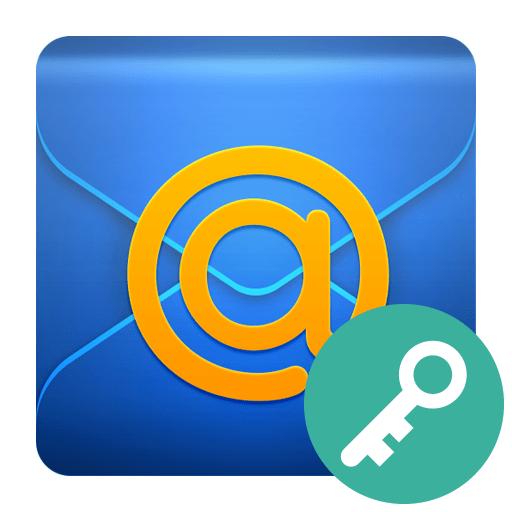 Как восстановить пароль Mail
