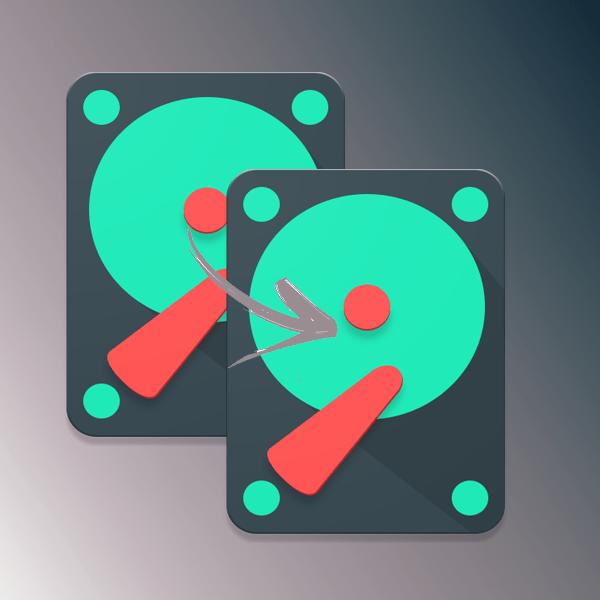 Клонирование HDD
