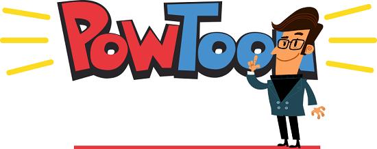 Лого powtoon