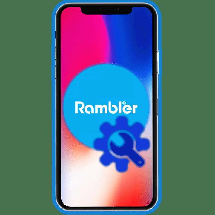 Настройка Рамблер почты на iPhone