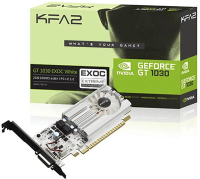 Новая видеокарта от Nvidia GT 1030