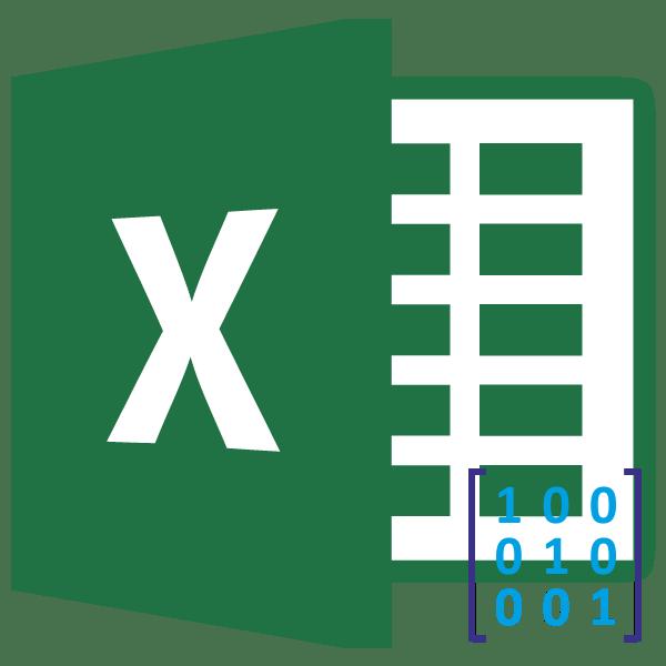 Перемножение матриц в Microsoft Excel