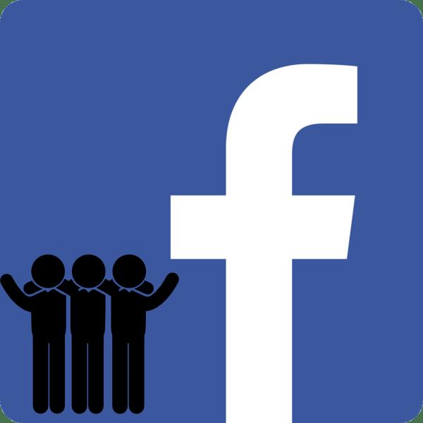 Поиск групп в Facebook