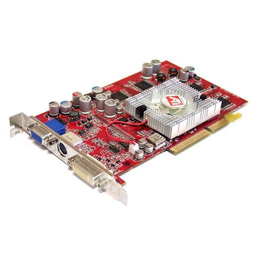 Скачать драйвера для ATI Radeon 9600