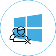 Удаление аватара в Windows 10