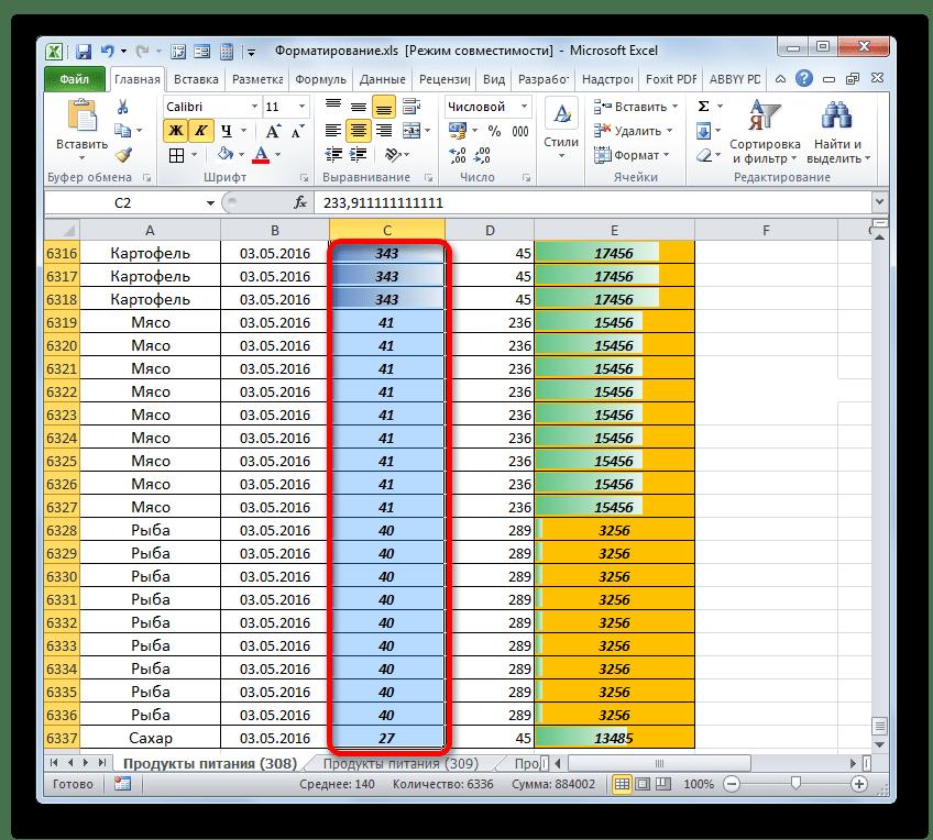 Закрыте окошка Диспечтыера правил условного форматирования в Microsoft Excel