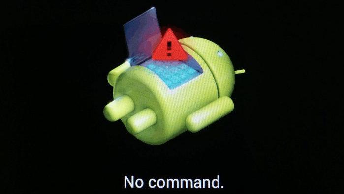 Заводское рекавери No command