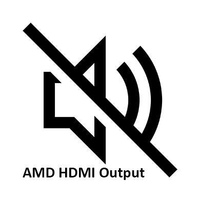 AMD HDMI Output не работает