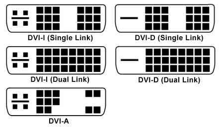 DVI разъёмы