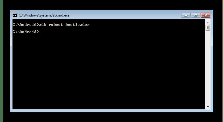 fastboot перезагрузка в фастбут-режим через ADB