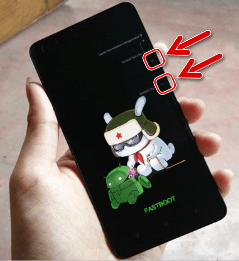 fastboot вход в режим у Xiaomi