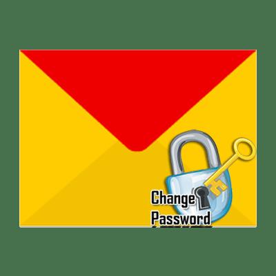 как поменять пароль на яндекс почте