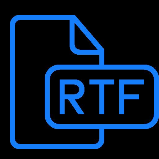 Формат RTF