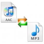 Как конвертировать AAC в MP3