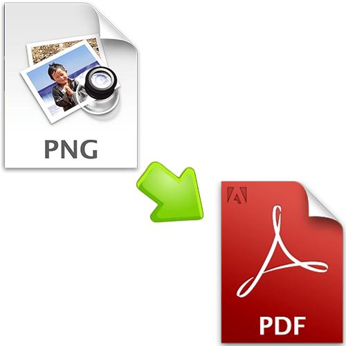 Как конвертировать png в pdf